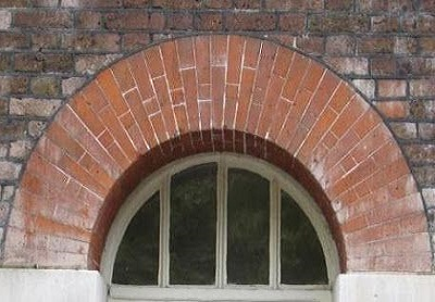 Wedge Brick Window